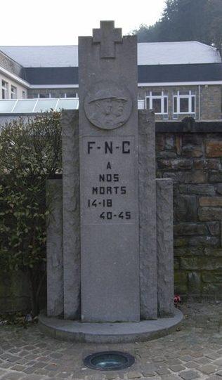 Муниципалитет Poulseur. Военный мемориал обеих войн.