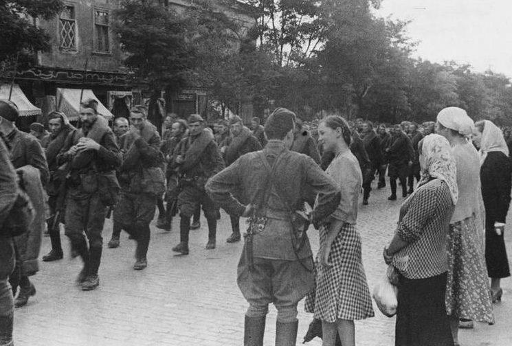 Защитники города. Сентябрь 1941 г.