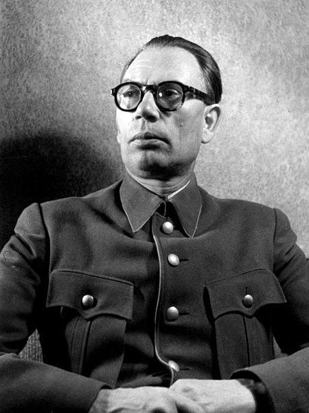 Генерал-лейтенант Власов А.А., впоследствии командующий РОА.