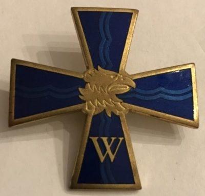 Аверс и реверс креста Тейкари береговой обороны.