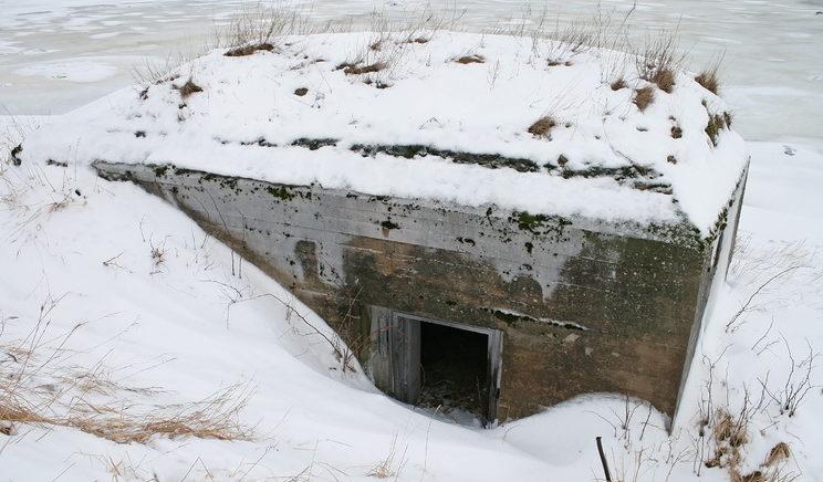 ДОТ № 23, Кронштадский УР. г. Кронштадт, форт РИФ.