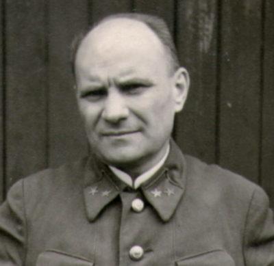 Генерал-майор Закутный Д.Е., впоследствии руководитель отдела пропаганды в Комитете освобождения народов России.
