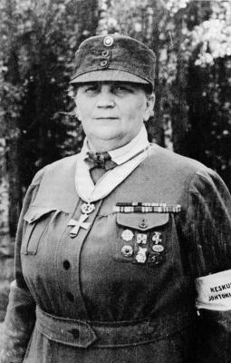 Фанни Лукконен – руководитель «Лотта Свярд» с 1929 по 1944 год.