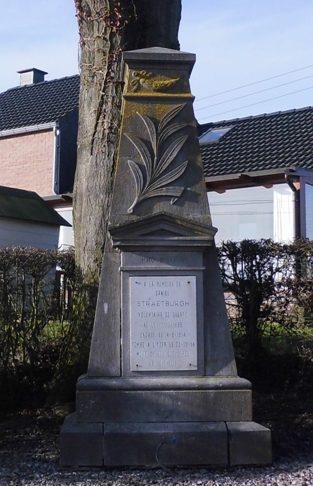 Муниципалитет Ramelot. Памятник жертвам и бойцам обеих войн.