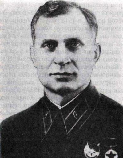 Генерал-майор Малышкин В.Ф., впоследствии руководил разведкой и контрразведкой РОА.
