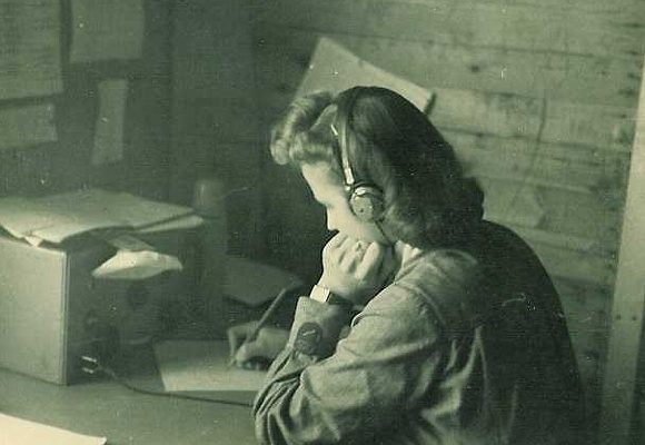 «Лотта» у радиостанции. 1939 г.
