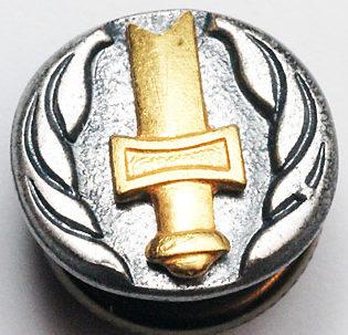 Членский знак общества инвалидов войны.