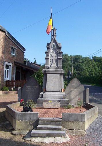 Муниципалитет Fumal. Памятник погибшим воинам и жертвам обеих войн.