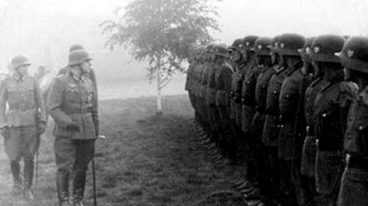 Украинский диверсионно-разведывательный батальон Абвера «Нахтигаль». 1941 г.