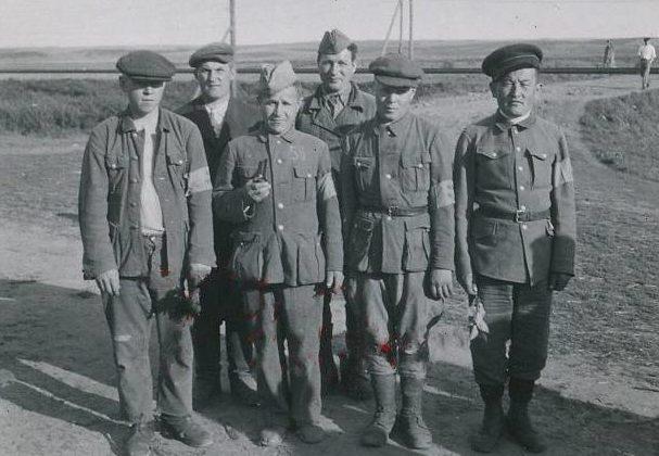 Многонациональна группа хиви. 1941 г.