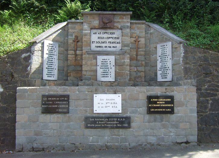 Муниципалитет Сурт-Сант-Этинне. Памятник французским солдатам, павшим в мае 1940 г.