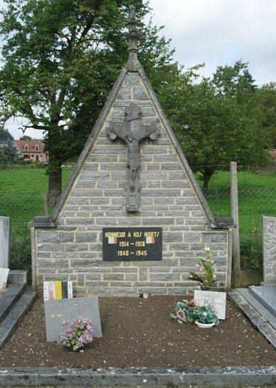 Муниципалитет Fumal. Памятник жертвам двух войн.