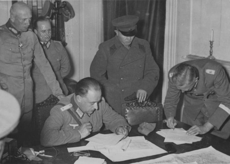 Переговоры советского и немецкого командования по определению демаркационных линий. Сентябрь 1939 г.