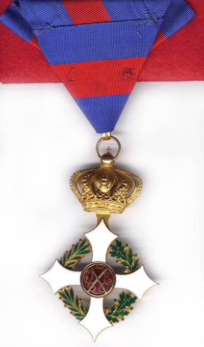 Знак Командора Савойского военного ордена.