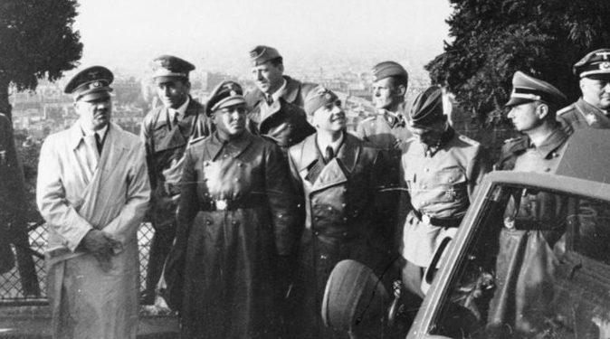 Гитлер в Париже. 28 июня 1940 г.