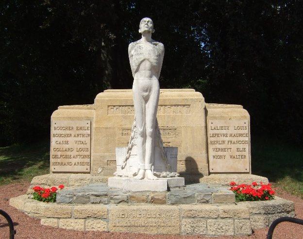 Муниципалитет Сурт-Сант-Этинне. Памятник воинам Сопротивления.