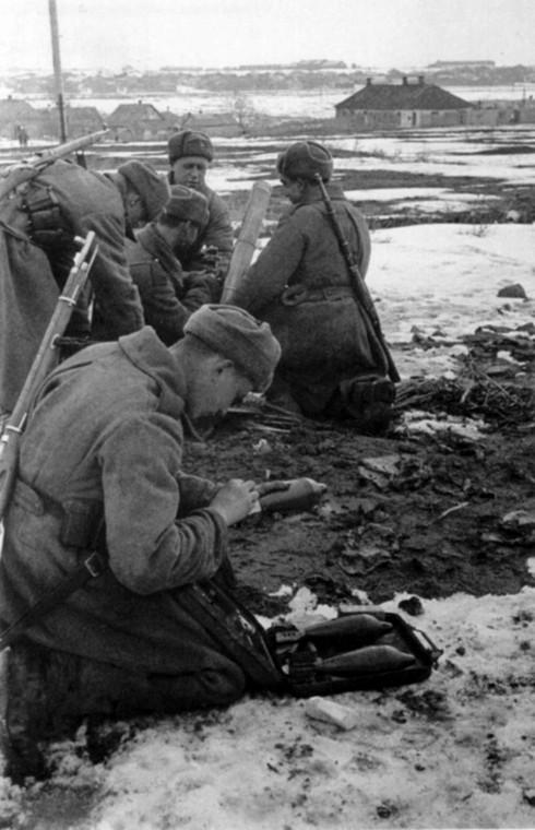 Бои за город. Февраль 1943 г.