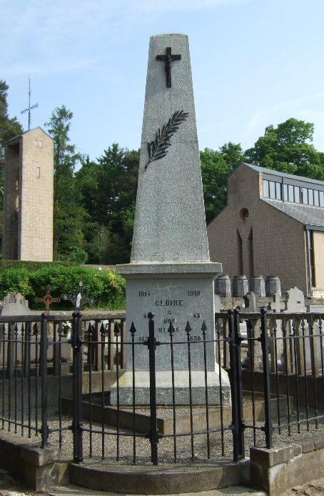 Муниципалитет Dongelberg. Памятник погибшим воинам в обеих мировых войнах.