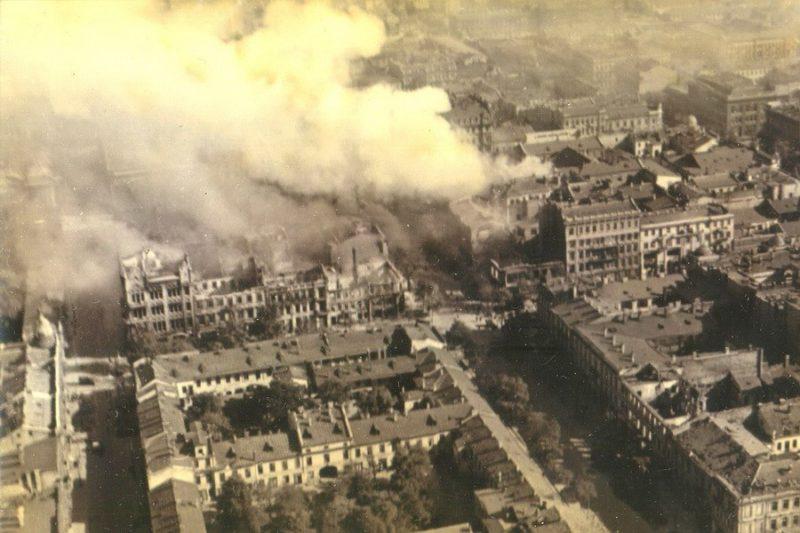 Одесса сражается. Сентябрь 1941 г.