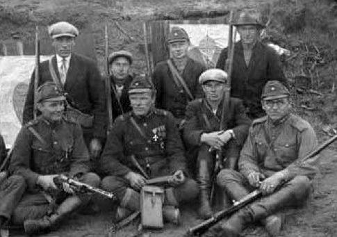 Прибалтийские «легионеры» - борцы в тылу Красной Армии. Лето 1941 г.