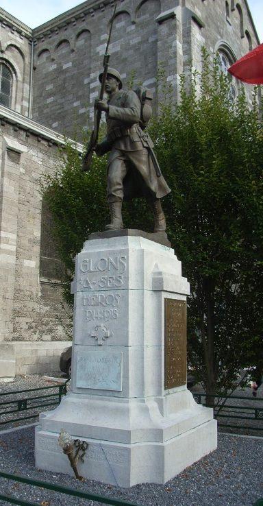 Муниципалитет Глонс (Glaaien). Военный мемориал обеих войн.