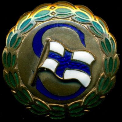 Аверс и реверс знака руководства Ассоциации солдатских семей.