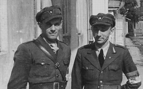 Украинская милиция. Львов. 2 июля 1941 г.