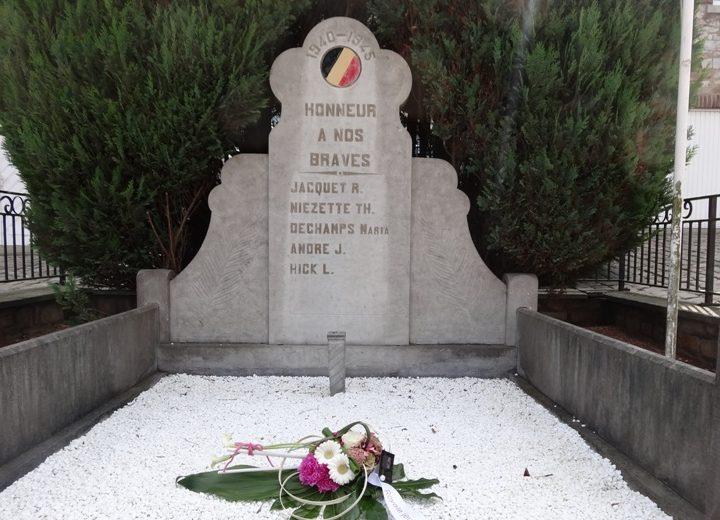 Муниципалитет Hevremont. Памятник погибшим во Второй мировой войне.