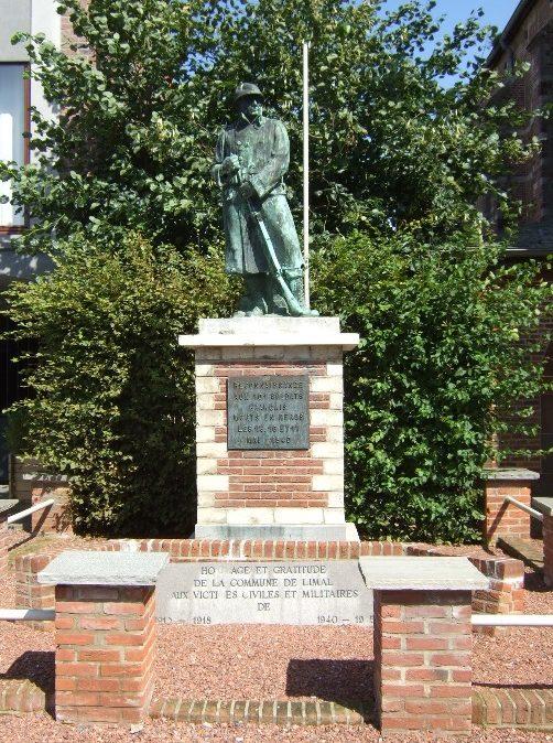 Муниципалитет Limal. Памятник 101 французскому солдату, погибшему в 1940-1944 годах.