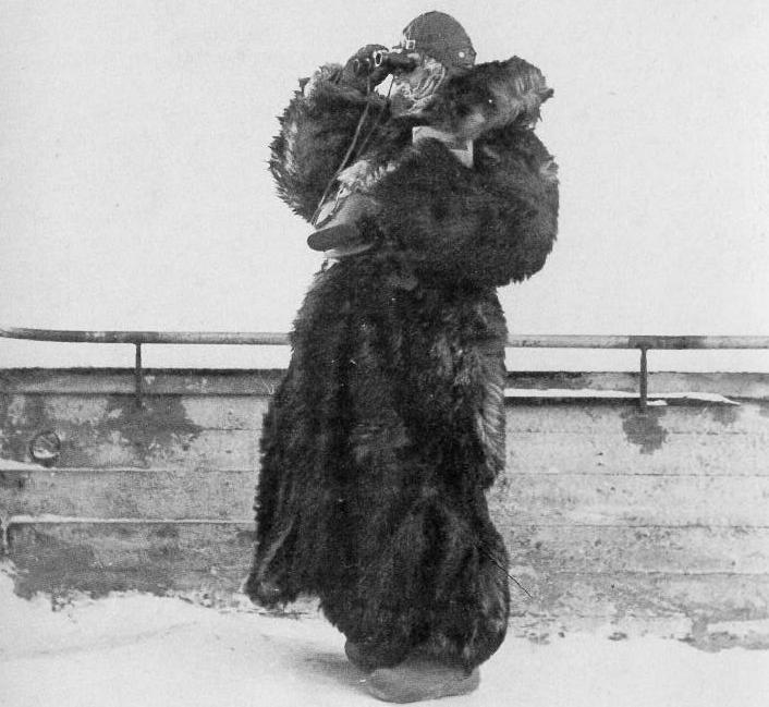 «Финские Лотты» наблюдают за небом в Северной Финляндии. Январь 1940 г.