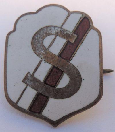 Знак одного из региональных отделений организации «Lotta Svärd».