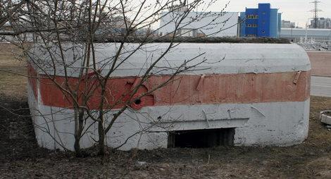 ДОТ №52, рубеж «Ижора». г. Санкт-Петербург, пр. Космонавтов, д. 47.
