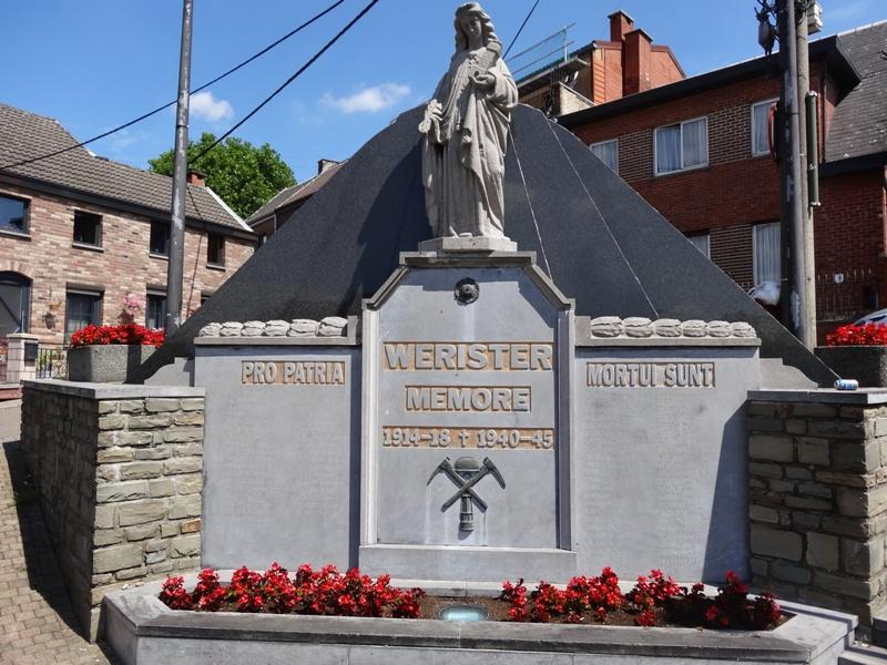 Муниципалитет Romsee. Мемориал обеих войн.