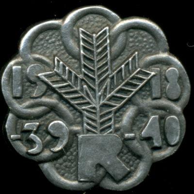 Членский знак Союза освободительной войны.