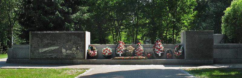 Общий вид мемориала «Павшим».