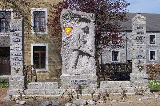 Муниципалитет Сены (Seny). Памятник погибшим подпольщикам.