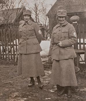 «Лотты» в униформе. 1940 г.