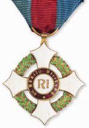 Знак Кавалера Военного ордена.