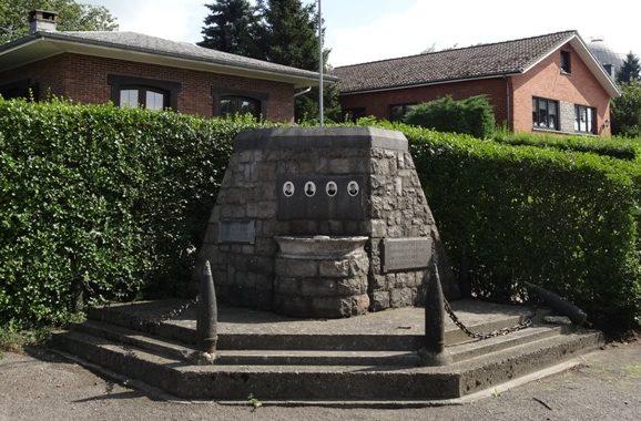 Муниципалитет Battice. Памятник в честь солдат, оборонявших форт.