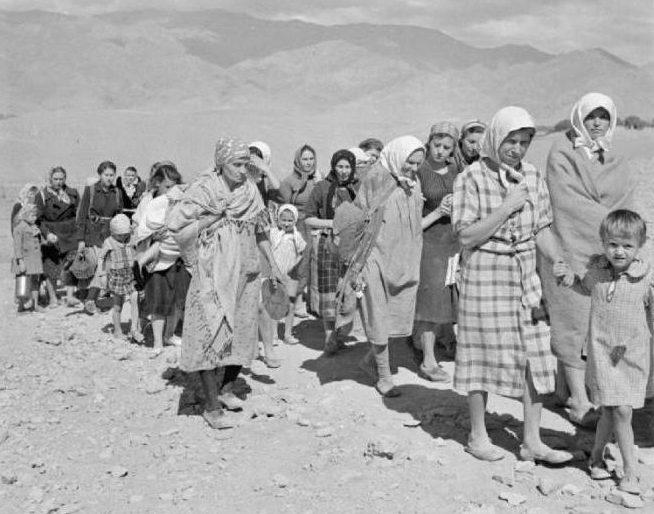 Депортированные в Казахстане. 1944 г.