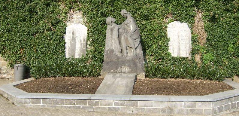 Муниципалитет Сугне-Ремушампе (Sougne-remouchamps). Памятник погибшим воинам и жертвам обеих войн.