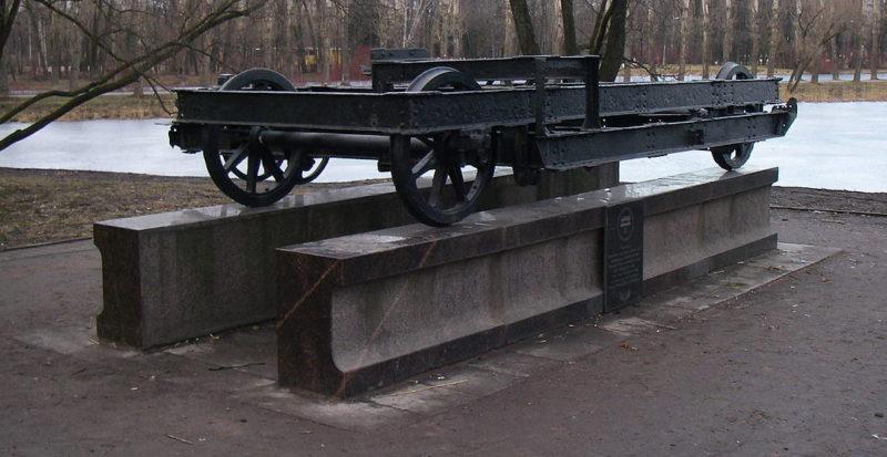 Памятный знак «Вагонетка».
