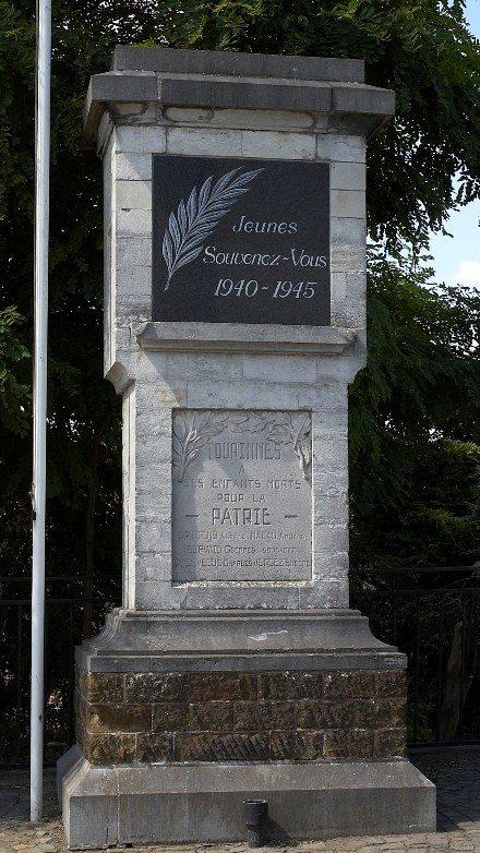 Совет Tourinnes-La-Grosse. Памятник воинам, погибшим в годы Второй мировой войны.