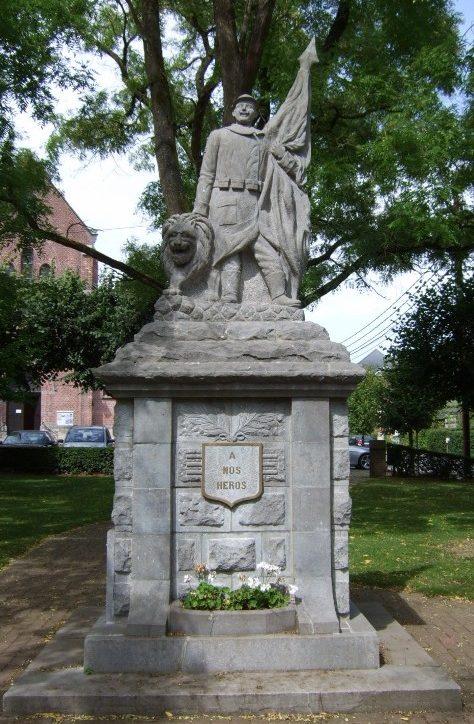 Муниципалитет Walyain. Памятник, посвященный погибшим воинам в обеих мировых войнах.