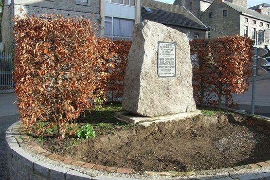 г. Sprimont. Памятник в честь мирного населения, погибшего 9 сентября 1944 г.