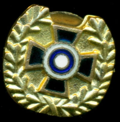 Аверс и реверс знака «За спортивные достижения 1-го класса» финской ассоциации резерва.