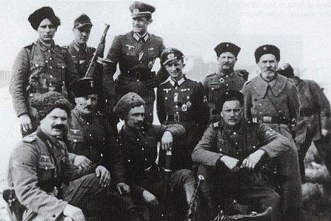 Казаки «Русского корпуса» в Югославии. 1942 г.
