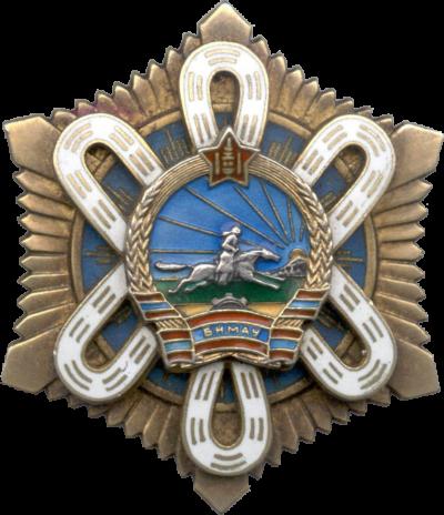 Аверс и реверс ордена «Полярной Звезды» (тип IV)