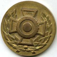 Знак «За стрельбу 3-й класс» финской ассоциации резерва.