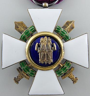 Аверс и реверс Ордена Римского орла с мечами I-го типа.